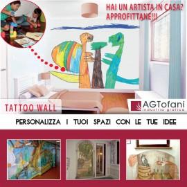 Tattoo Wall (murales digitale) CHIEDETECI UN PREVENTIVO
